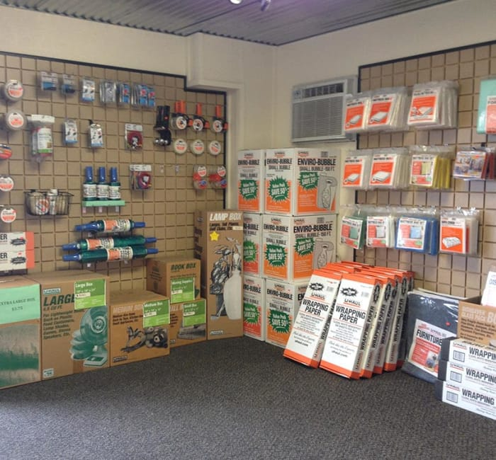 Packing supplies for sale at Ranch Road Self Storage in San Marcos, Texas