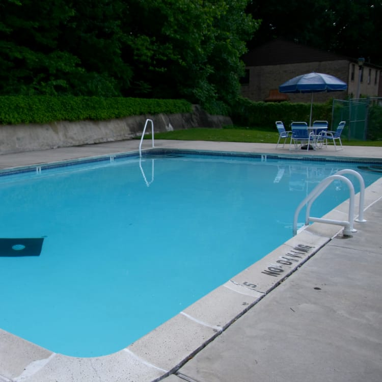 Beautiful swimming pool at Timber Ridge