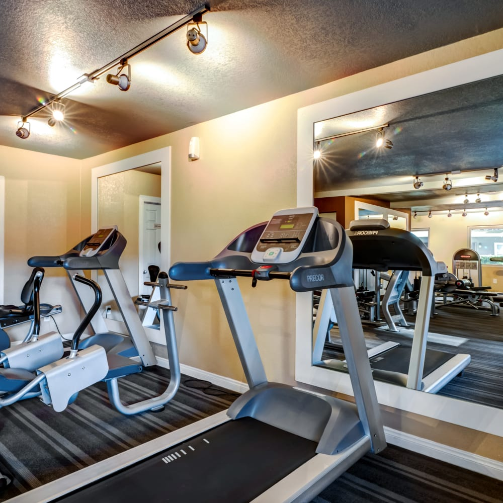 Onsite fitness center at Sofi Poway in Poway, California