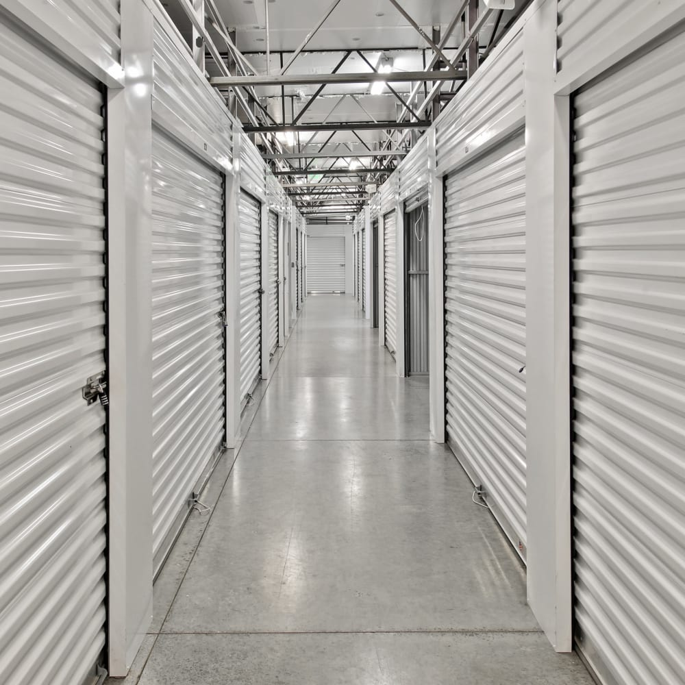 Climate Controlled units at Global Self Storage in McCordsville, Indiana