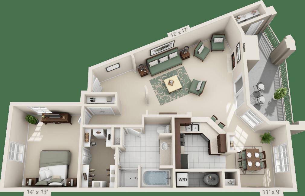 Luxury 1 2 3 bedroom apartments in san antonio tx for San antonio one bedroom apartments