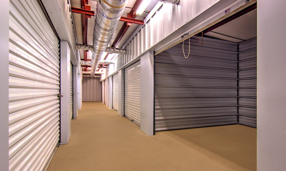 Indoor units at Prime Storage in Marietta, Georgia