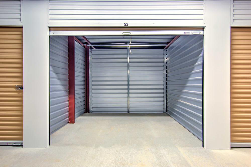 Interior view of unit at Prime Storage in Marietta, Georgia