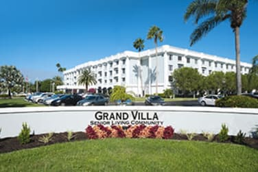 Welcome Sign at Grand Villa of Fort Myers in Fort Myers, Florida