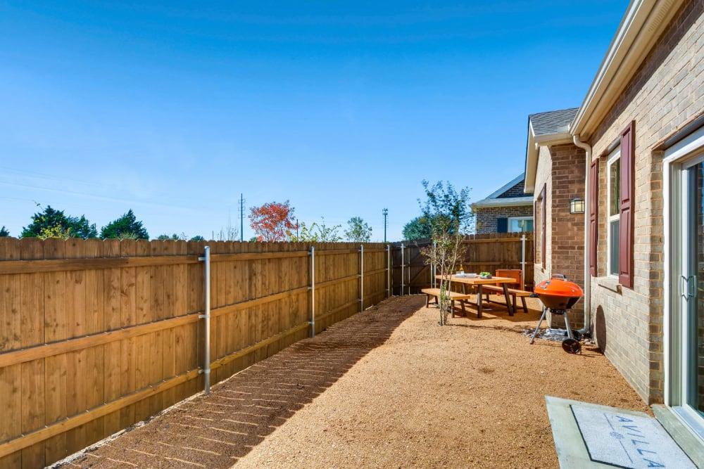 Backyard at Avilla Northside