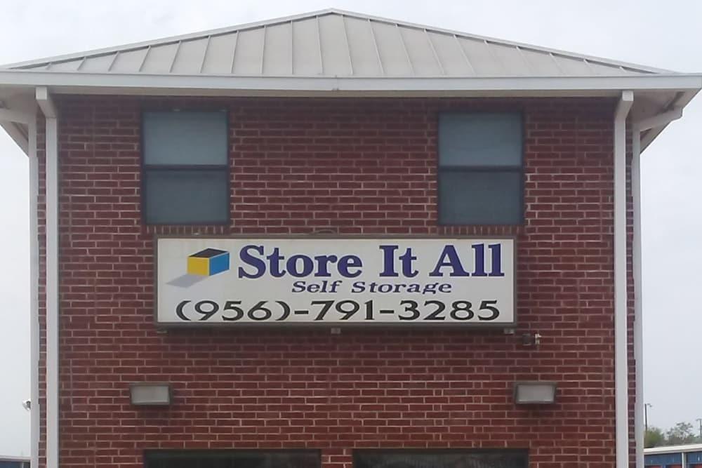 Exterior at Store It All Self Storage - Zapata in Laredo, TX