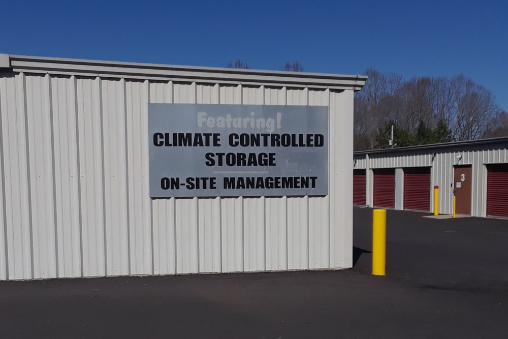 Storage building at Monster Self Storage in Westminster, South Carolina