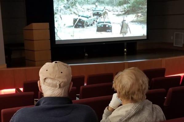 Afternoon Film in the Geddes Auditorium