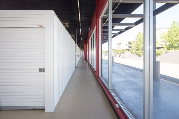 Self storage units for rent at Trojan Storage in Sacramento, California