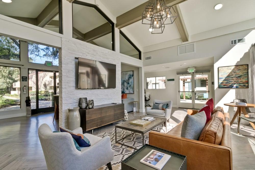 Living room at Terra Willow Glen