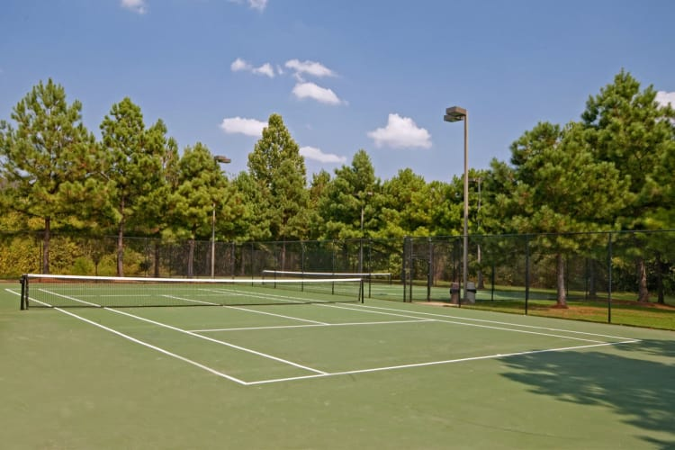 Tennis court at Enclave at Wolfchase in Cordova, Tennessee