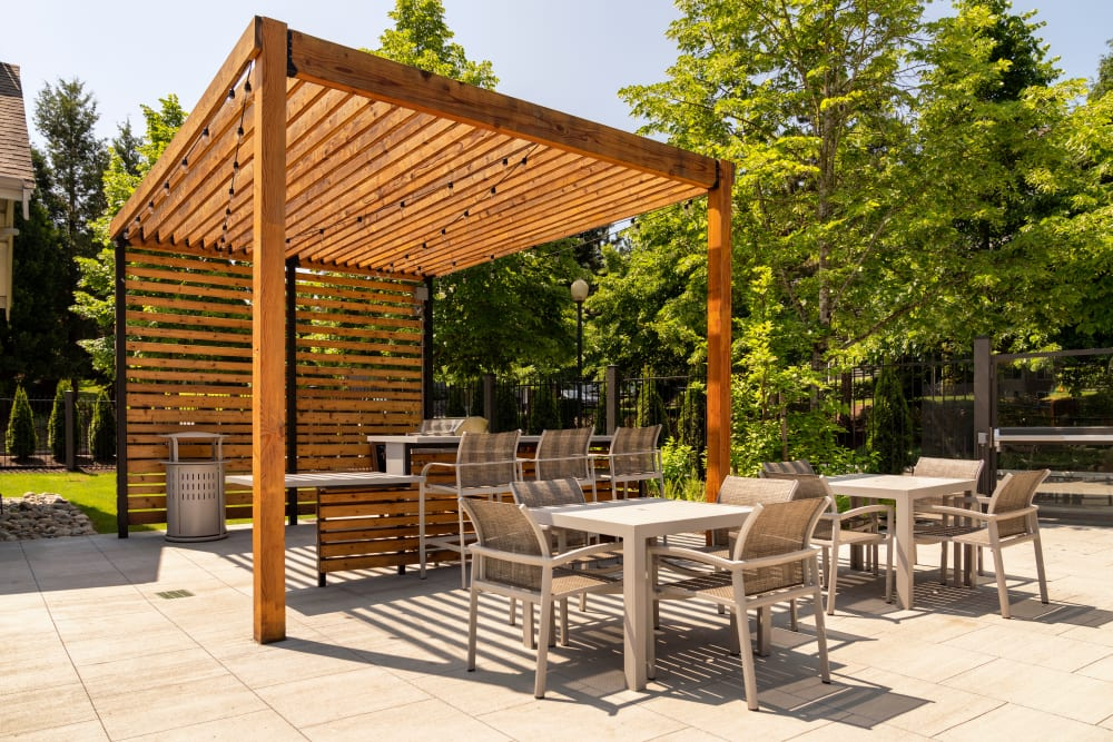 Have fun with friends with out outdoor grilling area at Brookside Village in Auburn, Washington