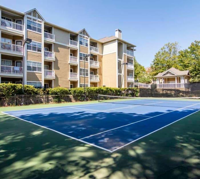 Tennis court at Jefferson at Perimeter Apartments