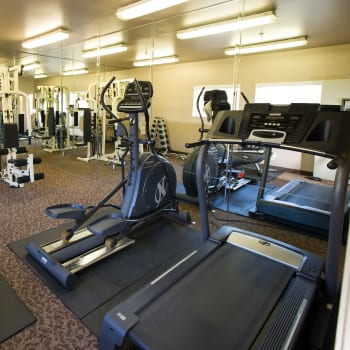 Fitness center at Fashion Terrace