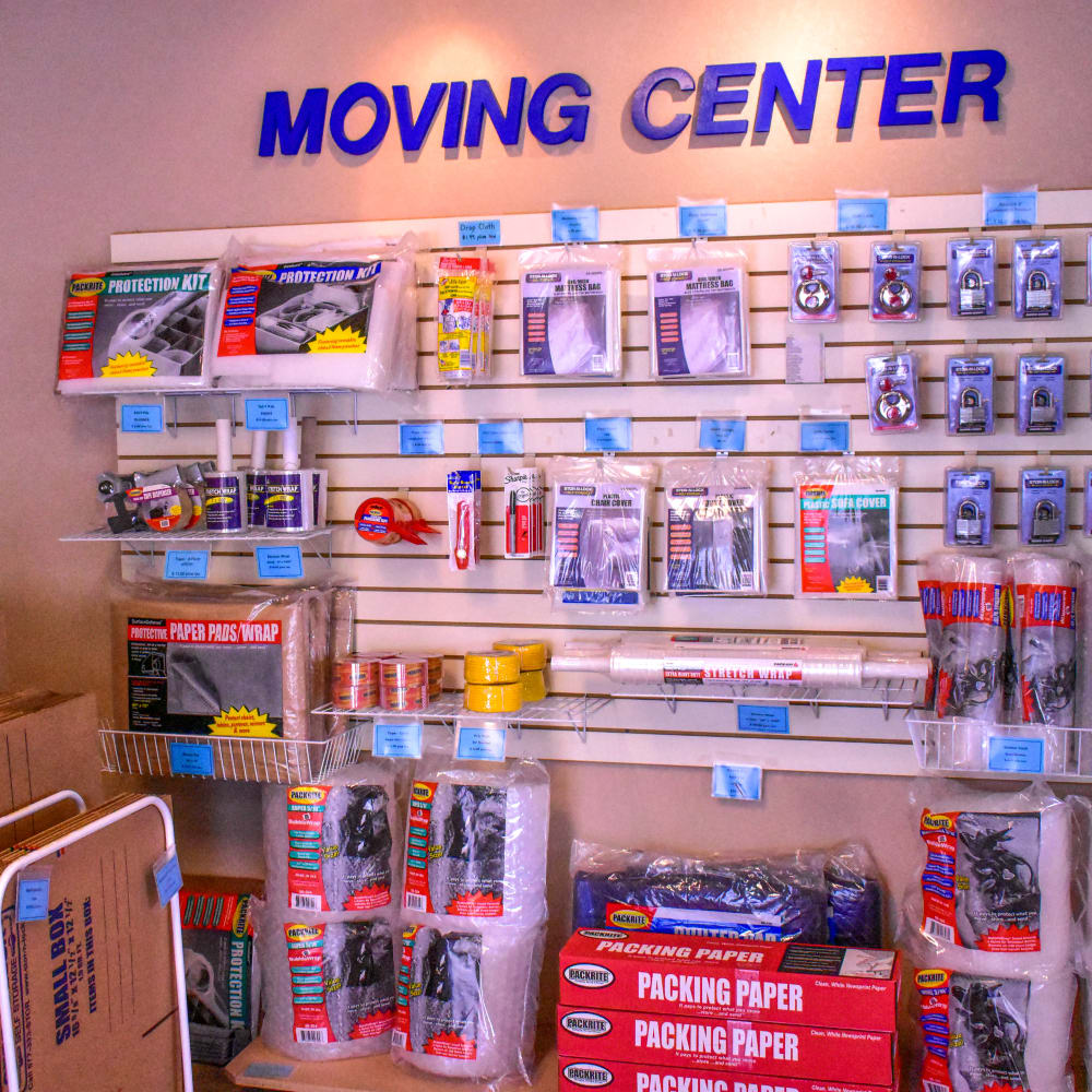 Moving supplies for sale at STOR-N-LOCK Self Storage in Littleton, Colorado