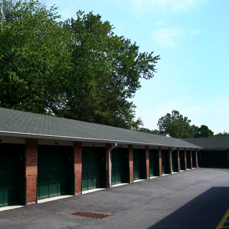 Storage units at Cedar Village in Cedar Grove, NJ