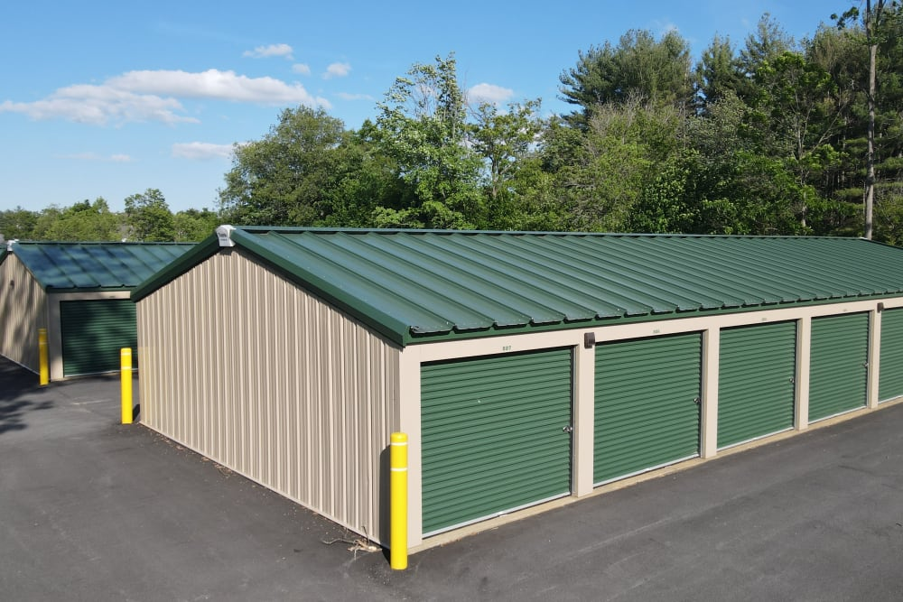 Individual storage units at 603 Storage - East Milford in Milford, New Hampshire