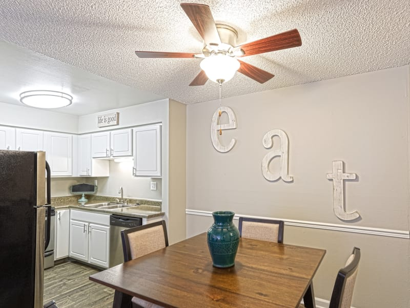 Westhills Apartment Homes dining room