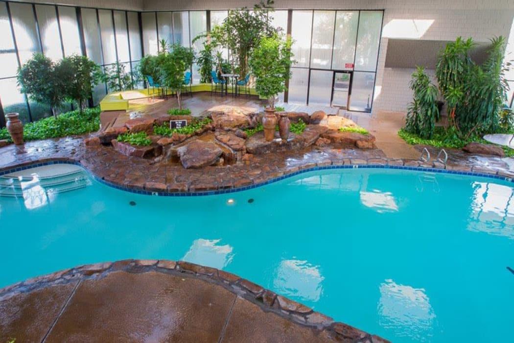 Beautiful pool at Sunchase Apartments in Tulsa, Oklahoma