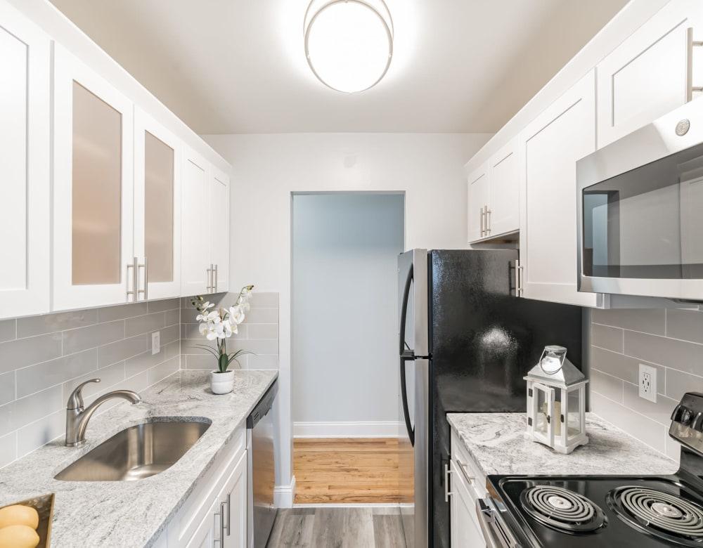 Kitchen at Brixton Lane in Levittown, New York