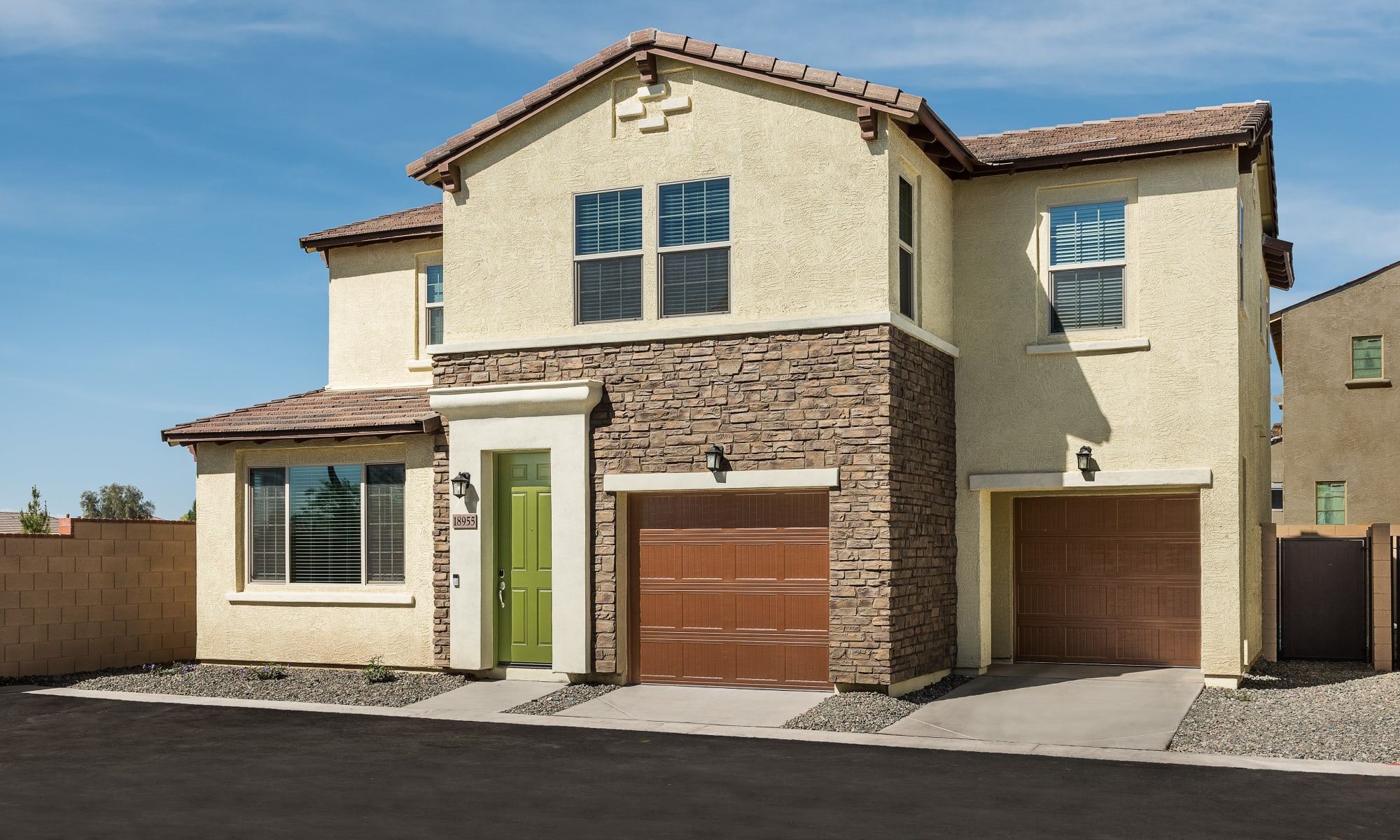Home Exterior at Las Casas at Windrose in Litchfield Park, Arizona