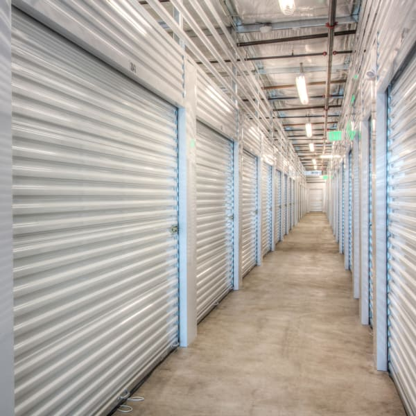 White doors on indoor units at StorQuest Express - Self Service Storage in Briarcliff Manor, New York