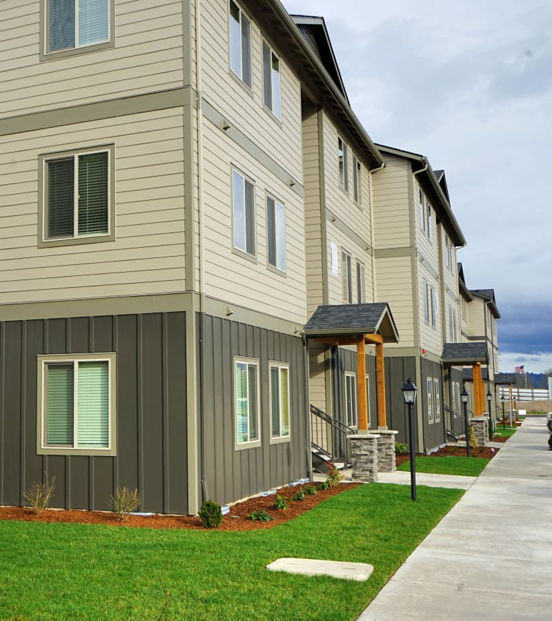 Exterior at Southtown Apartments in Monmouth, Oregon