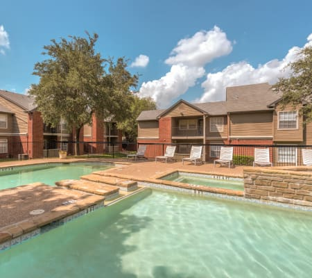 Community pool at Cedar Glen Apartments