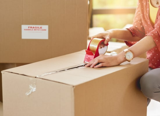Packing supplies are available at A-1 Self Storage in Fountain Valley, California