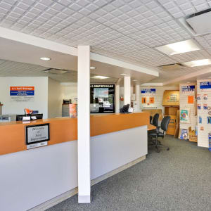 The office of A-1 Self Storage in Oceanside, California
