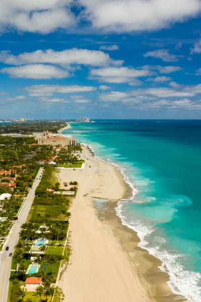 Stunning views from The District Flats in West Palm Beach, Florida