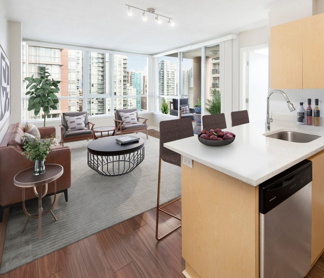 Vancouver Apartments: Luxury Studio, 1 & 2 Bedroom Apartments In Downtown