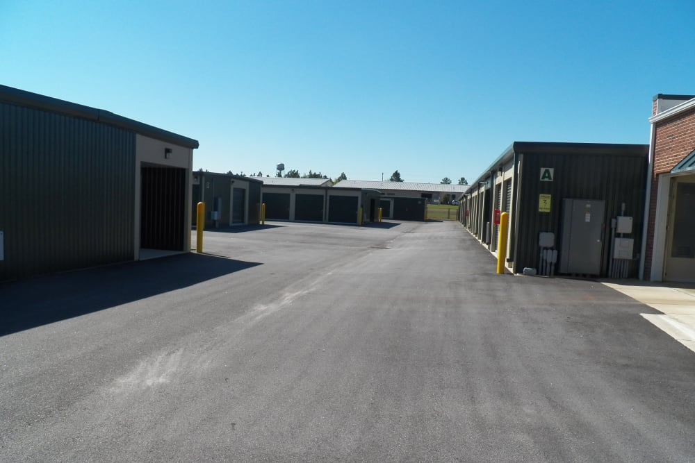 Storage units available at Breezy Hill Self Storage in Graniteville, South Carolina