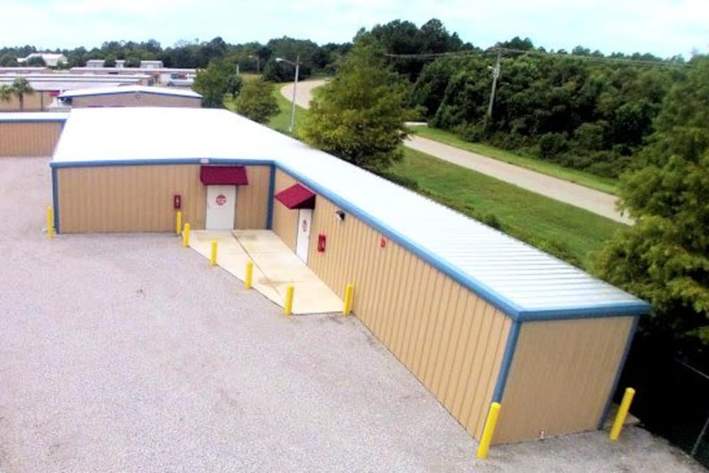 Climate controlled storage units available at America's Mini-Storage and Office Complex in Port St. Joe, Florida
