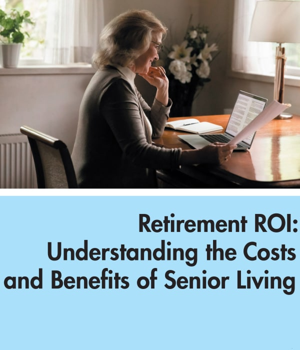 Retirement ROI at The Claiborne at West Lake in Martinez, Georgia