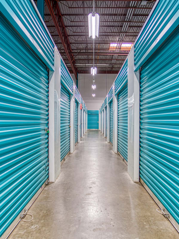 Climate-controlled storage options in Charlotte, North Carolina at Devon Self Storage