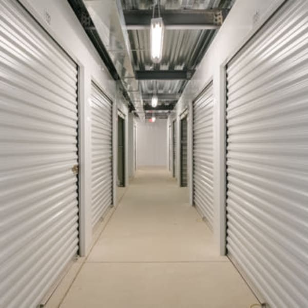 Indoor climate-controlled units at StayLock Storage in Fort Wayne, Indiana
