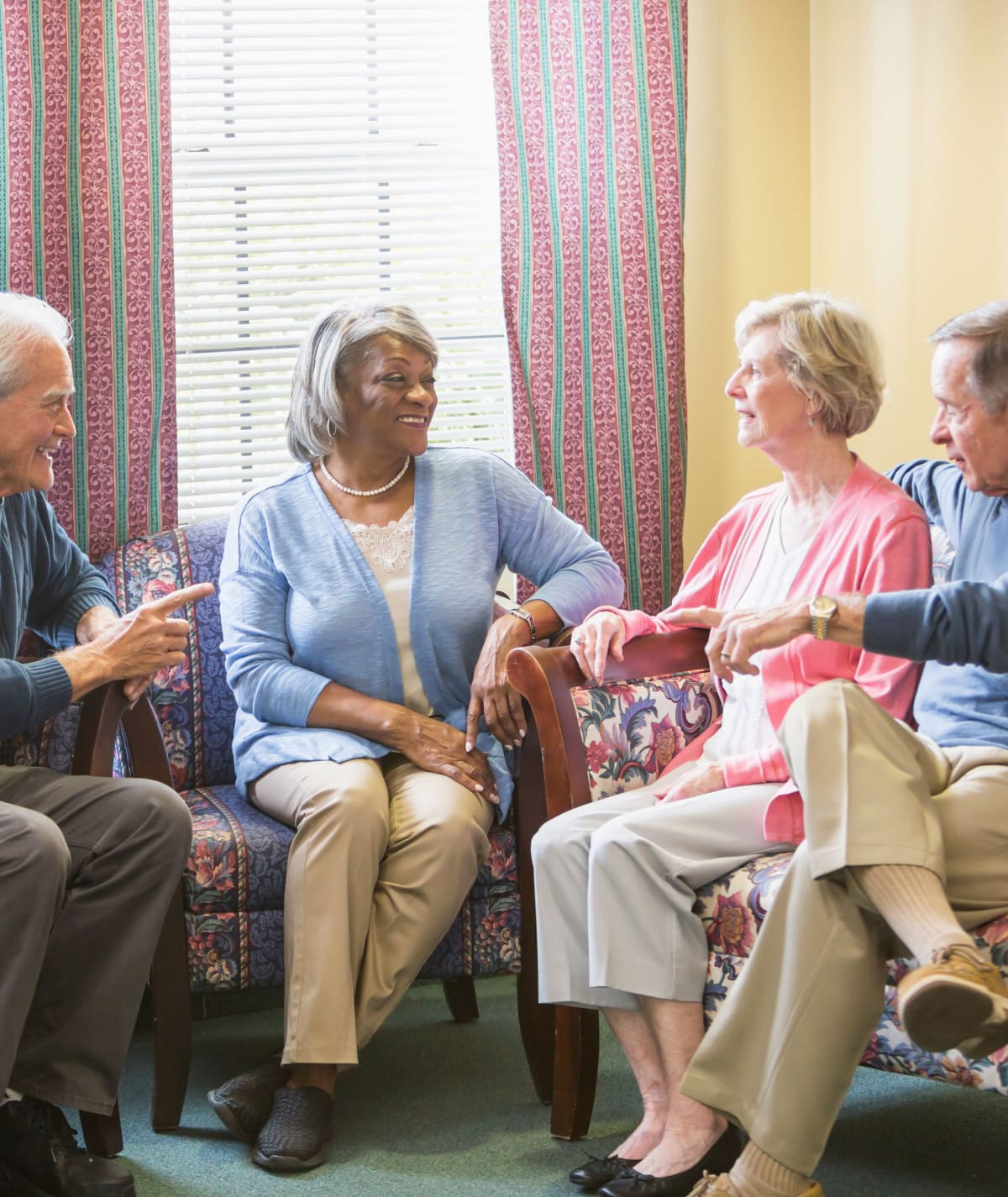 Senior living at CHAI Apartment Communities