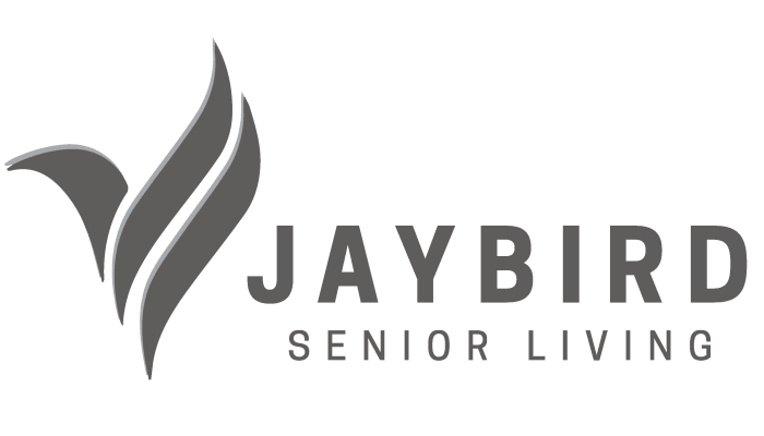 Jaybird Senior Living logo for Prairie Hills Senior Living in Cedar Rapids, Iowa