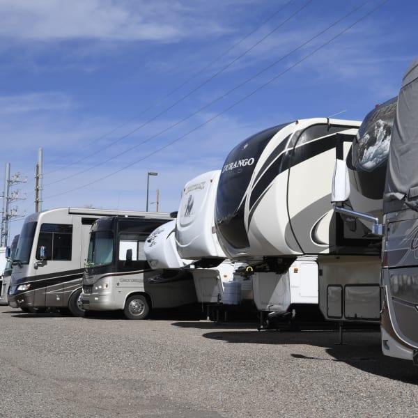Rv & Boat Storage at Storage Solutions in Los Angeles, CA