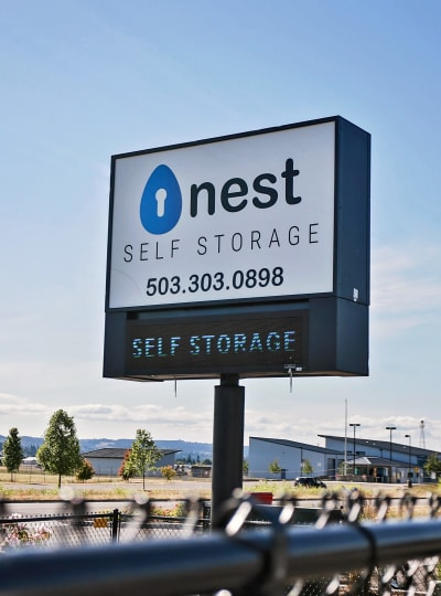 Self Storage Locations with Nest Self Storage in Salem, Oregon
