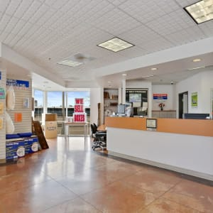 Inside the office at San Diego, California at A-1 Self Storage