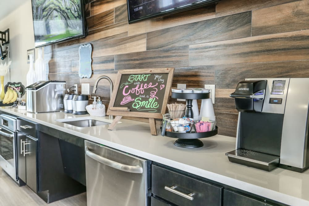 Springs at Round Rock Clubhouse Free Coffee Station