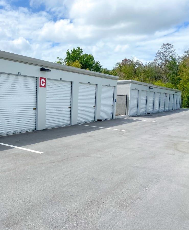 Outdoor units at StorQuest Self Storage in Tarpon Springs, Florida