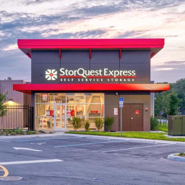Exterior of StorQuest Express Self Service Storage in Castle Rock, Colorado