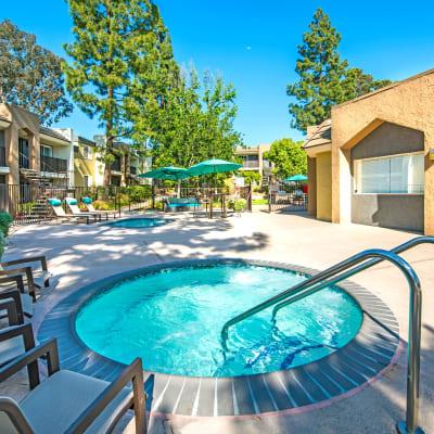 Spa area at Sofi Poway in Poway, California