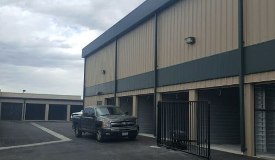 Driveways throughout Towne Storage in Las Vegas, NV