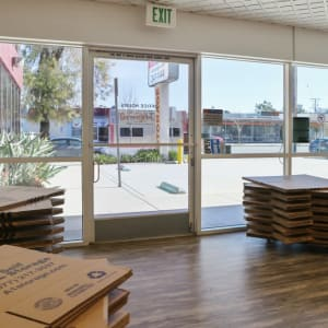 Boxes available in the office at Glendale, California at A-1 Self Storage