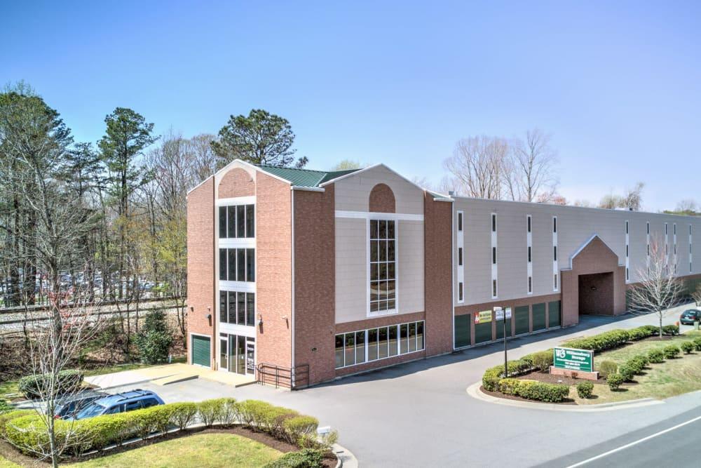 Exterior image of Williamsburg Storage in Williamsburg, Virginia