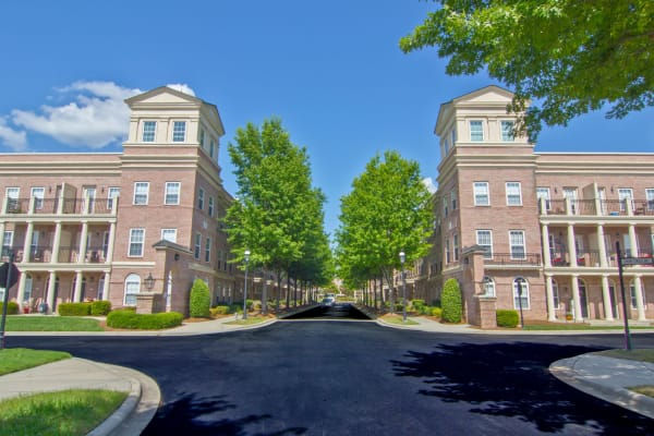 Street view of Atkins Circle Apartments & Townhomes in Charlotte, North Carolina